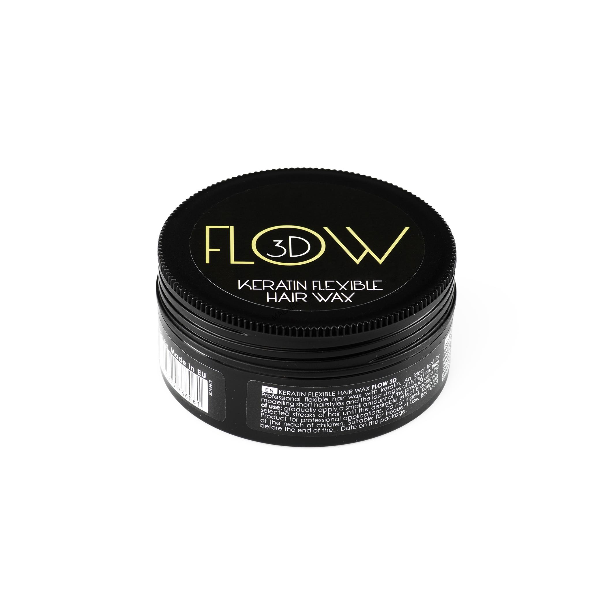 STAPIZ Keratin Flexible Hair Wax FLOW 3D