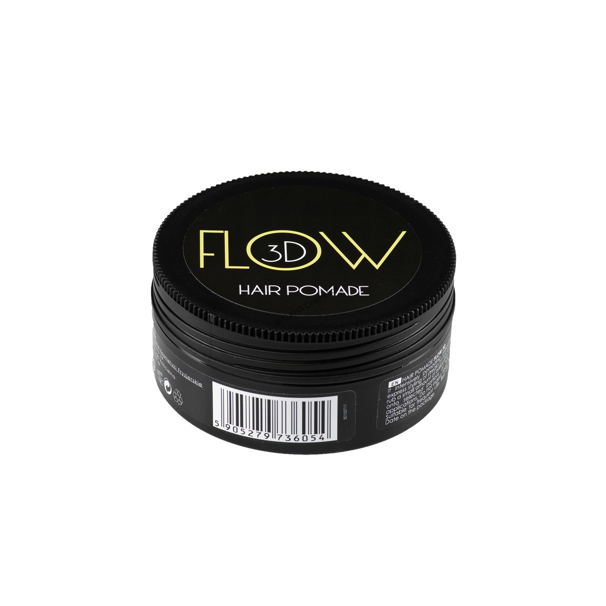 STAPIZ Hair Pomade FLOW 3D