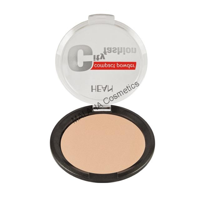 CITY FASHION Mattosító kompakt púder