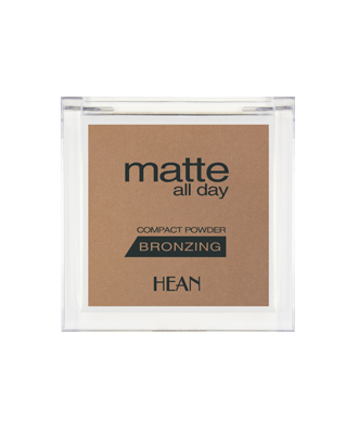 HEAN MATTE ALL DAY kompakt bronzer