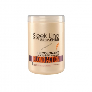 "Hair bleach ""SLEEK LINE"" BLOND ACTION"